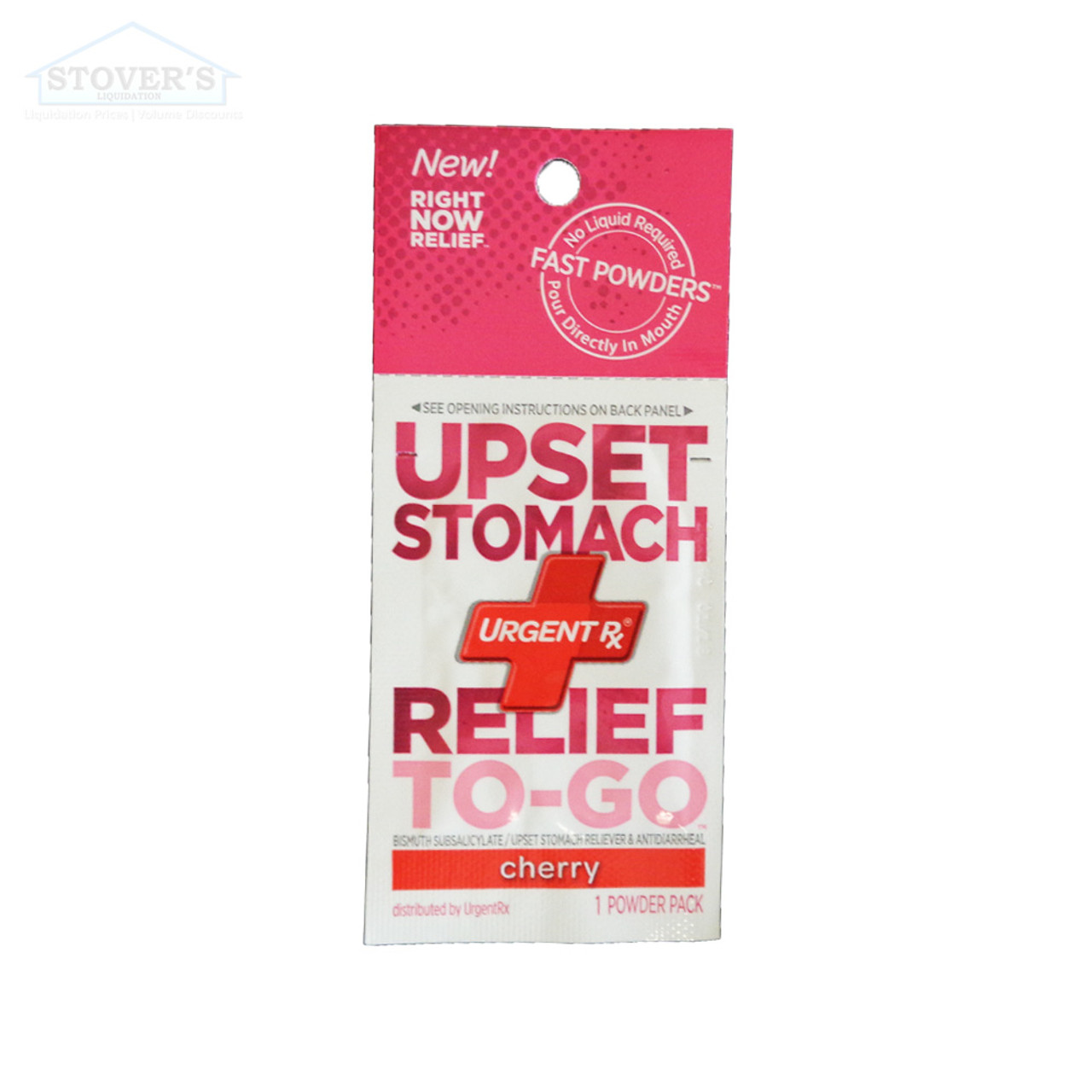 Critical Care | Upset Stomach Relief To-Go | Flavored Powder Medicine | 12 pk