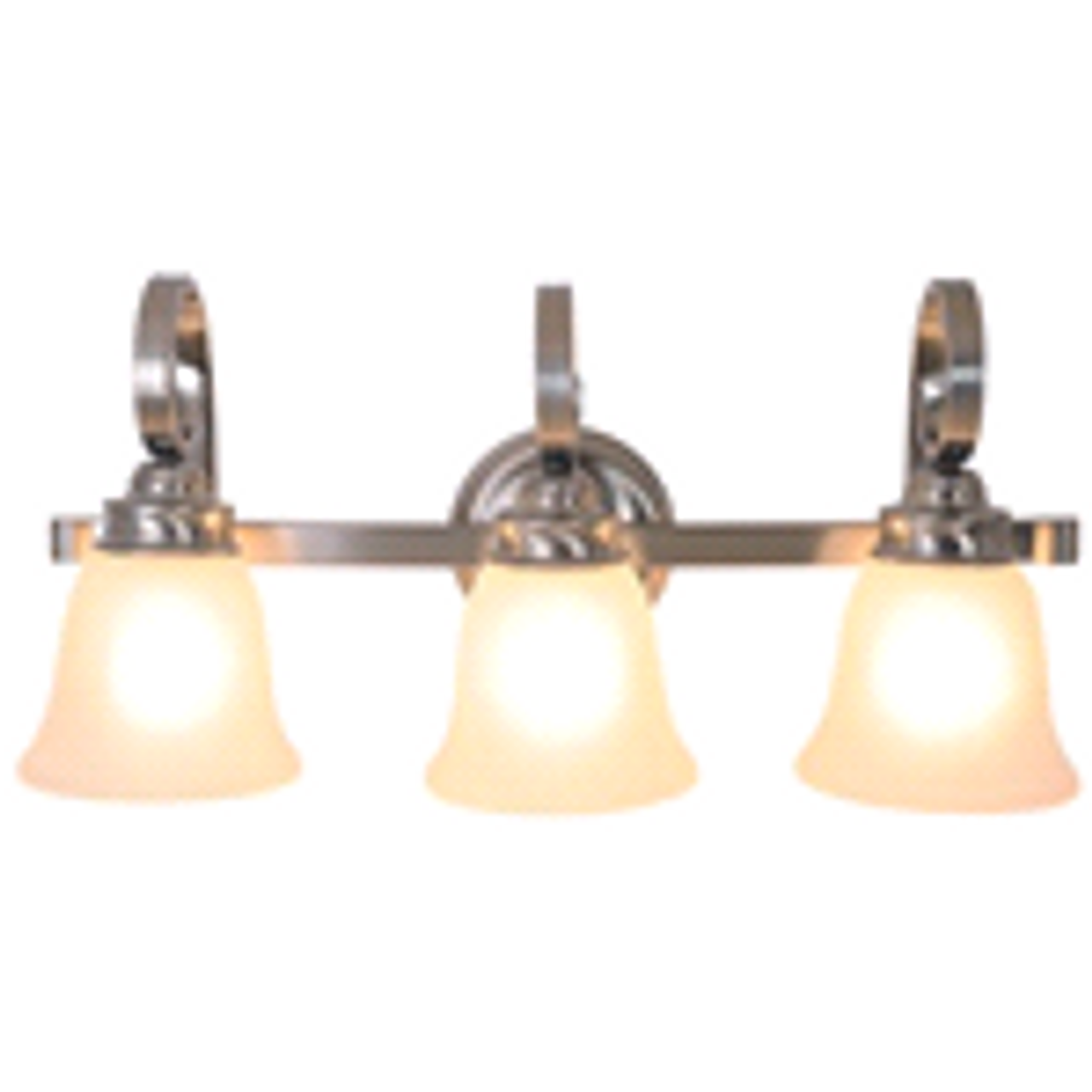 3- Light Vanity Fixture | Brushed Nickel | 617251