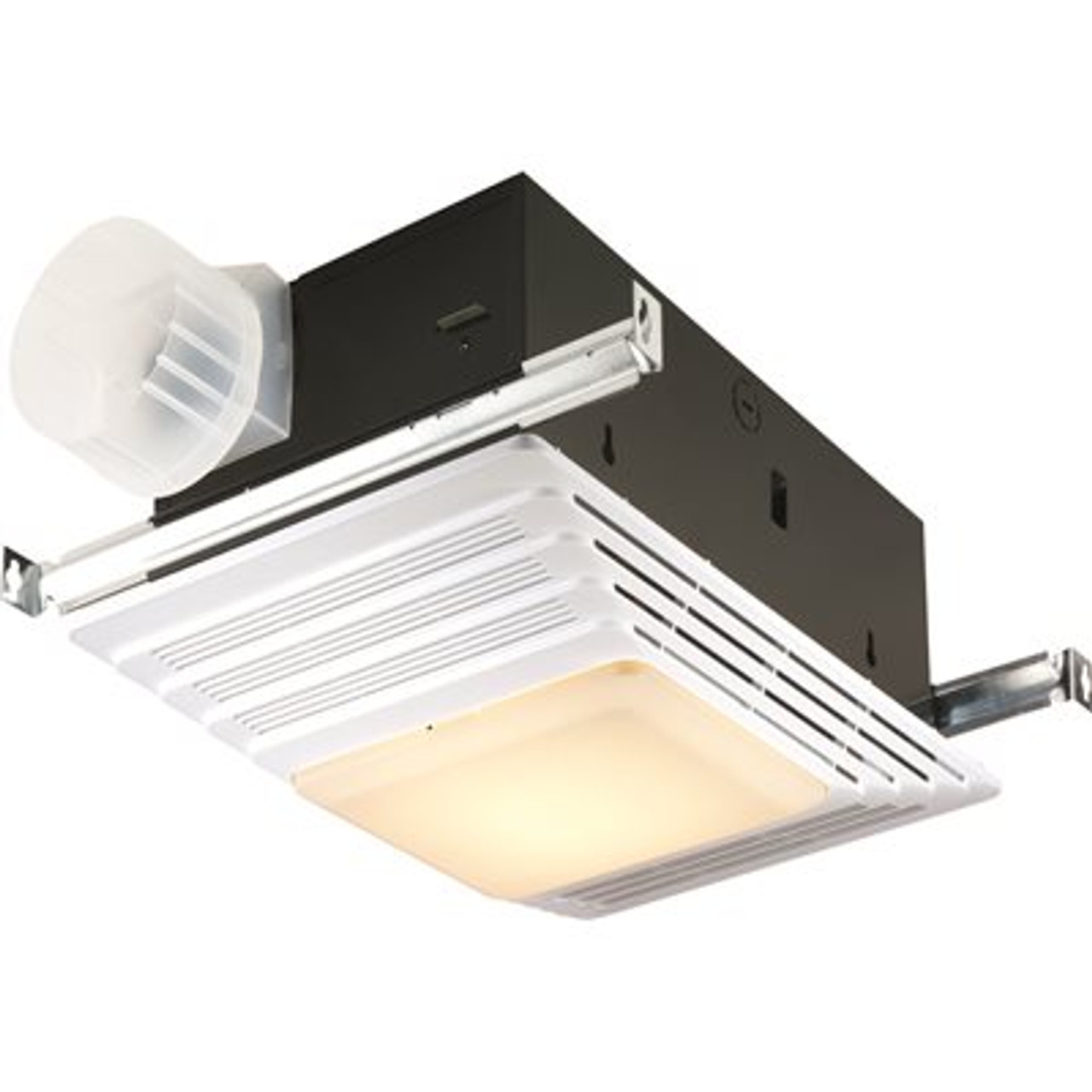 BROAN 657 CEILING EXHAUST FAN WITH LIGHT WHITE GRILLE | BROWN PALLET