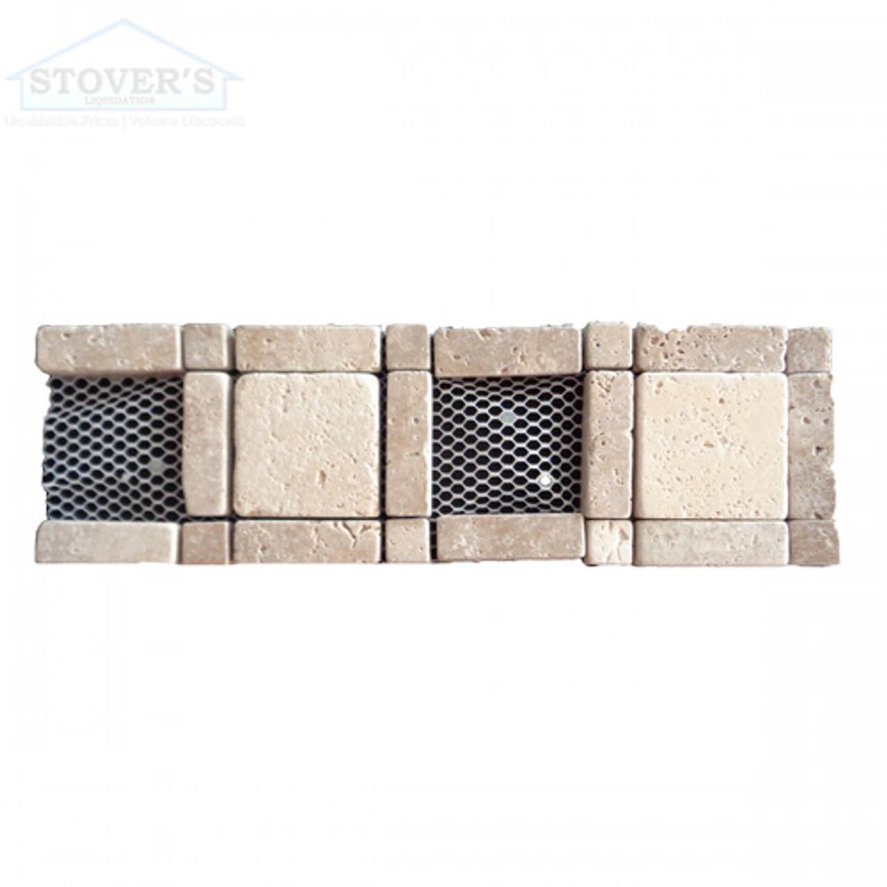 Noce Chiaro Component 4x12   Stone Deco   RCL0001