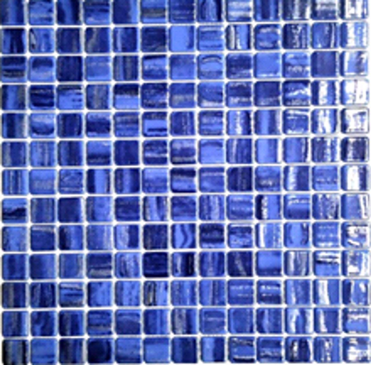 HX Caribbean | Glass Mosaic | 1 x 1 | HXDTTXCCARIP1