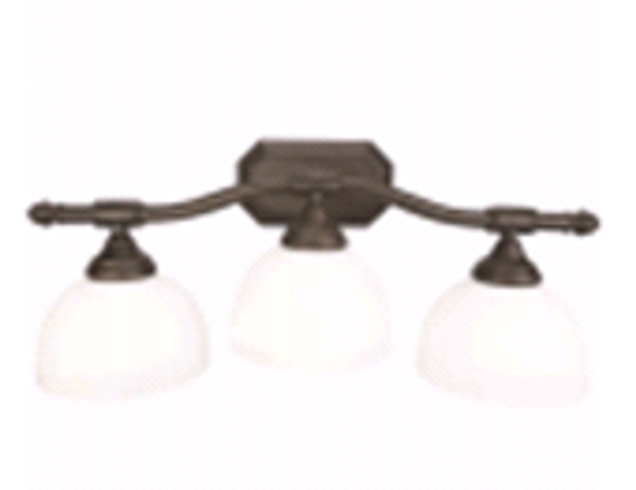 Monument | 3-Light Decorative Vanity Fixture | Oil Rubbed Bronze | 076335245737