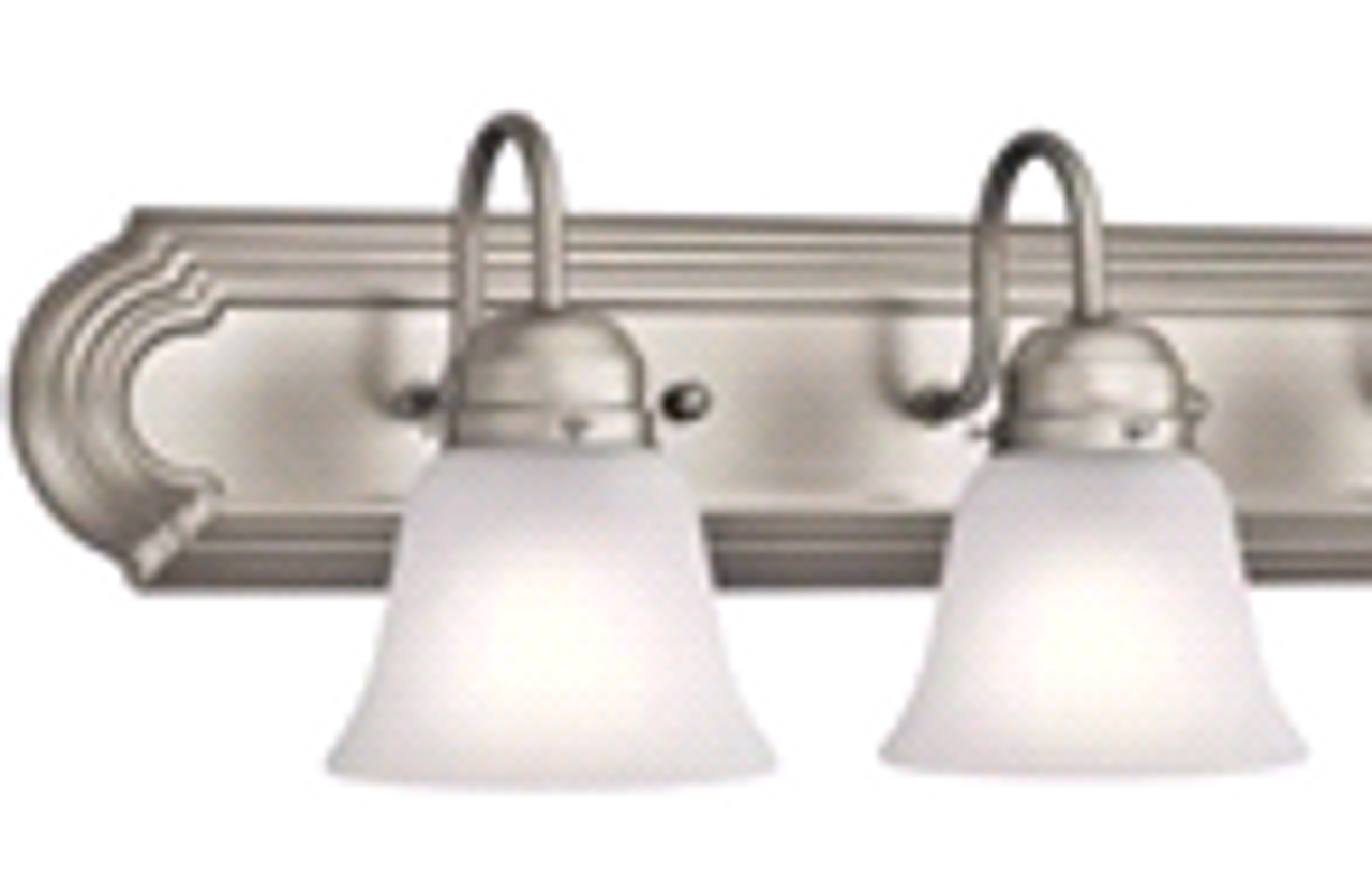 Monument | Vanity Fixture | Brushed Nickel | 045923619137