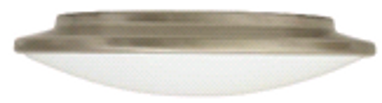 Monument   Flush Mount Ceiling Fixture   Brushed Nickel   076335227870