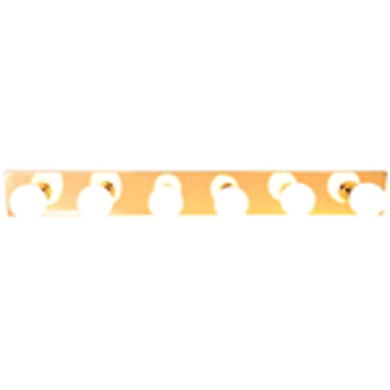 Royal Cove | Vanity Strip Light 6-Light | Polished Brass | 671620
