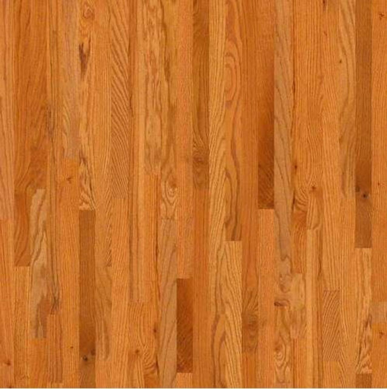 "Shaw Butterscotch   3-1/4"" x 3/4""   Solid Hardwood   1st Quality [27 SF / Box]"
