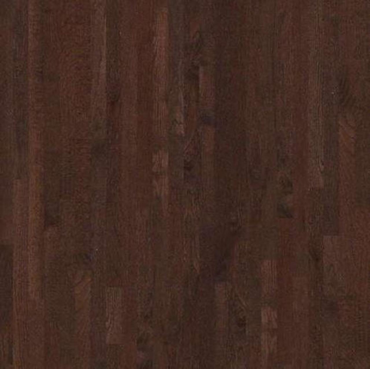 "Shaw Coffee Bean   3-1/4"" x 3/4""   Solid Hardwood   1st Quality [27 SF / Box]"