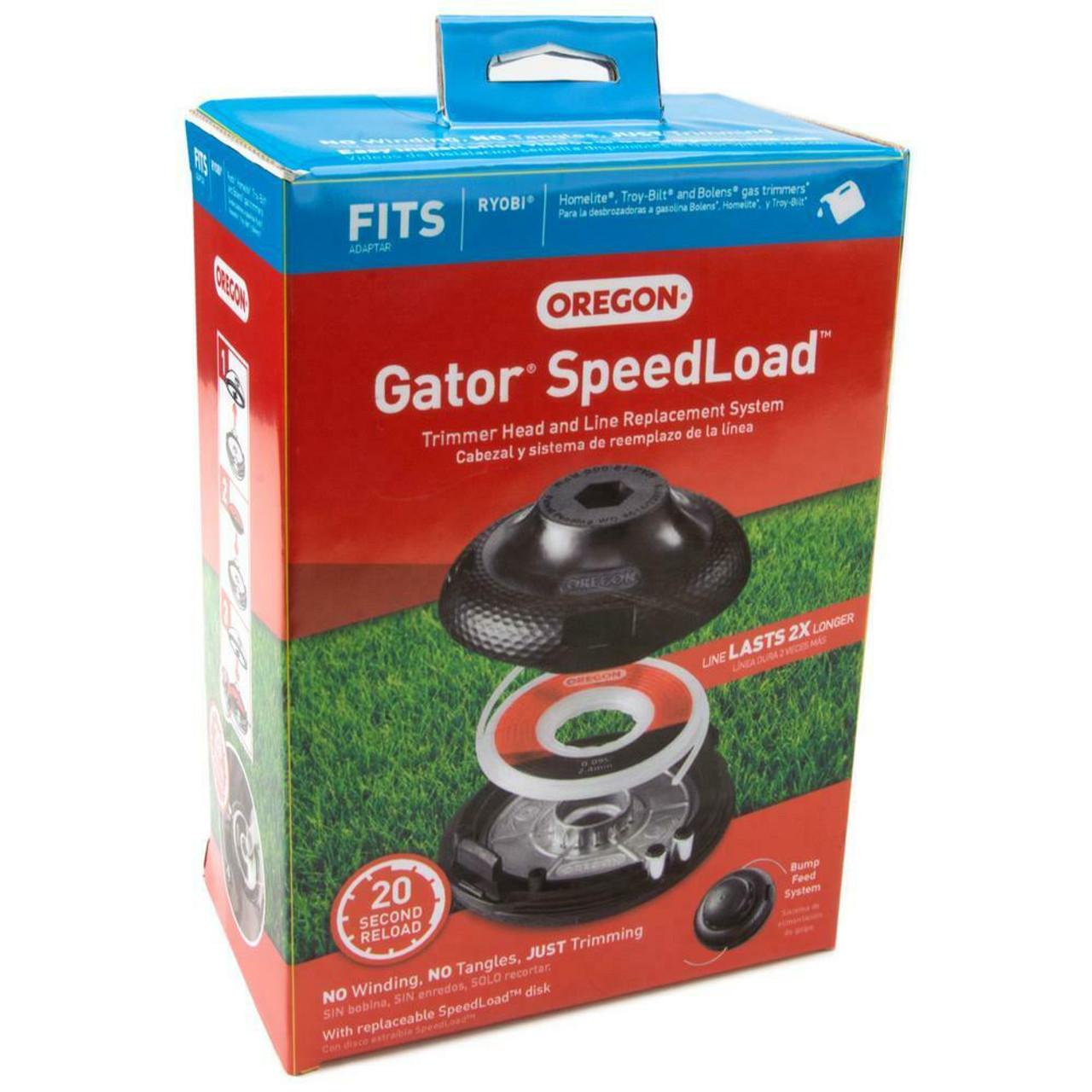 Oregon Gator Speedload Trimmer Head & Line Replacement System Line 24-200-R