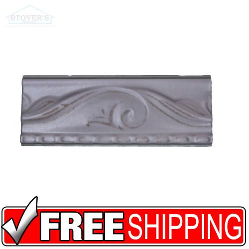 3x8 Ceramic Wall Border Tile | 4 pcs | Listello USA | Salmon S3860