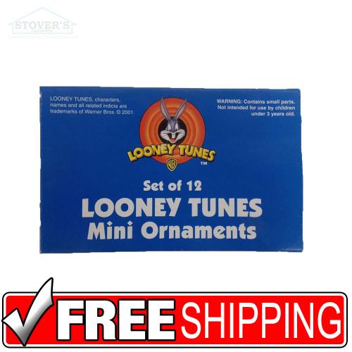 Mini Looney Tunes Christmas Ornaments