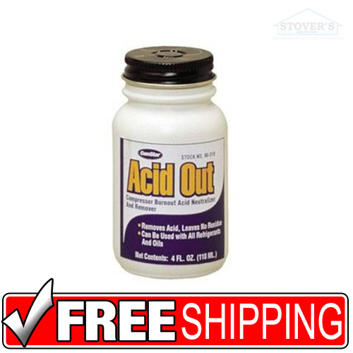 ComStar | Acid Out | Compressor Burnout Acid Neutralizer and Remover | 4fl