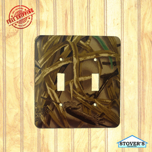 Light & Socket Plate | Advantage Wetlands | Outdoors-Themed | NEW
