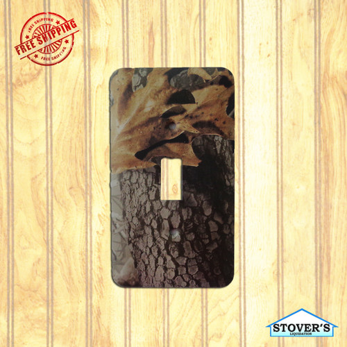 Light & Socket Plate | Realtree Hardwoods | Outdoors-Themed | NEW