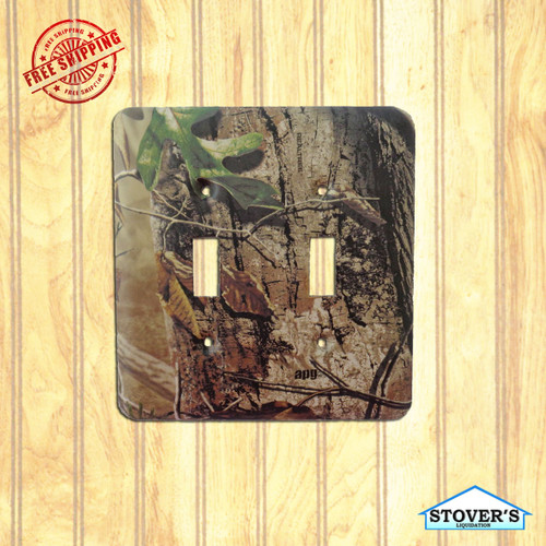 Light & Socket Plate | Realtree APG HD | Outdoors-Themed | NEW