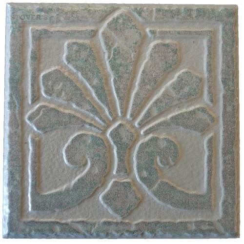 4x4 Porcelain Deco | Interceramic | Set of 4 | Kindling