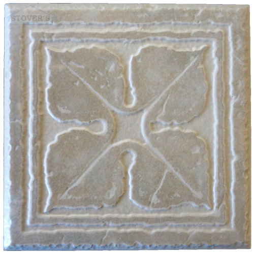 4x4 Porcelain Deco | Interceramic | Set of 4 | Cinder