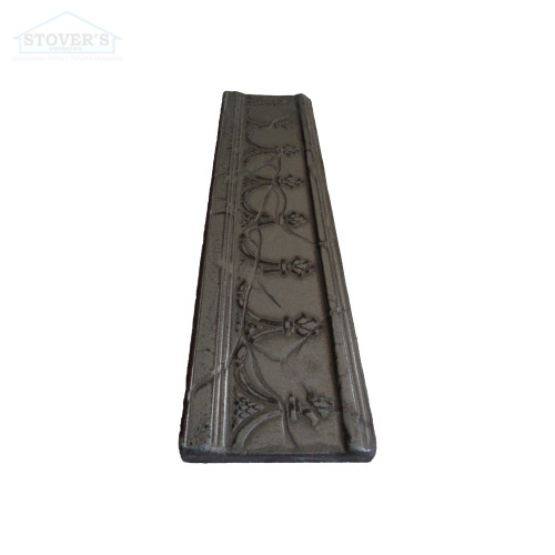 3x12 Deco   Metal Look Decos   Hermitage Liner Oil Rubbed Nickel   M1L026066011