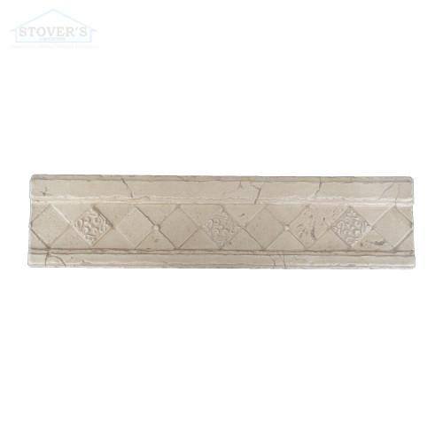 3X12 Deco | Metal Look Decos | Ibiza Liner Travertine | S1L167