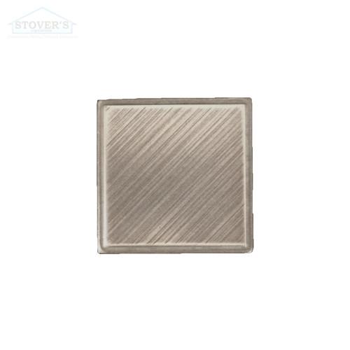 2x2 Deco | Metal Look Decos | Estrada Insert Nickel | TILE436024011