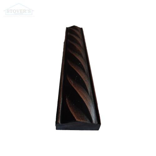 1x6 Deco | Metal Look Decos | Rope Liner Oil Rubbed Bronze BSAT | TILE458070003