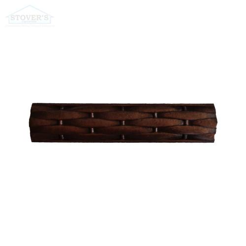 1X6 Deco | Metal Look Decos | Liner Basketweave Burnished Copper | TRIM328020003