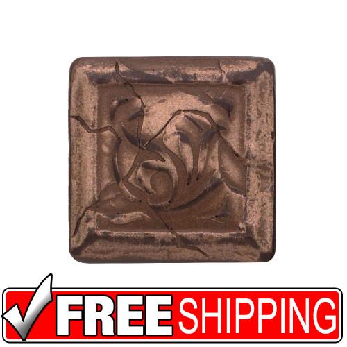 2x2 Deco | Metal Look Decos | Montclair Dot Oil Rubbed Bronze | M2D029065011