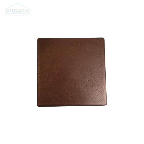 6x6 Deco | Metal Look Decos | Field Sculptured Metal Copper | TILE347020003