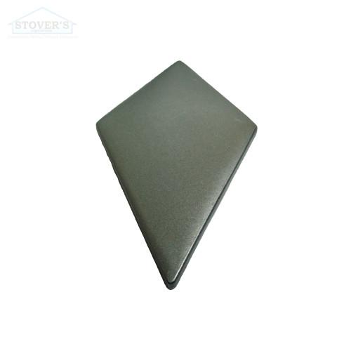 4x6.5 Deco | Metal Look Decos | Harlequin Field Pewter | TILE371022003