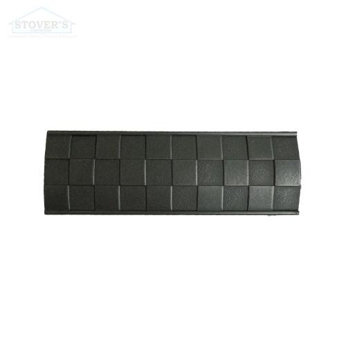 2x6 Deco | Metal Look Decos | Liner Hi-Lo Pewter | TRIM324022003