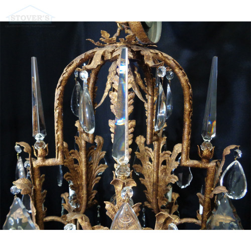 Opryland Hanging Crystal Chandelier | 3.5 x 5 ft