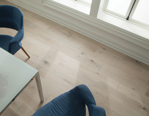 Marble Euro Sawn White Oak | Engineered Hardwood | Value Collection |  7'' X 1/2'' Cabin Grade [31 SF / Box]