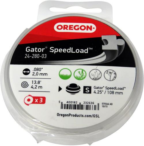 Oregon 24-280-03 Gator SpeedLoad Trimmer Line | FREE SHIPPING