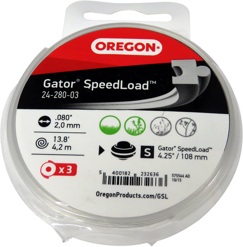 Oregon 24-295-R Gator SpeedLoad Trimmer Line | FREE SHIPPING