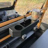 Kawasaki Mule Pro FXT Rear Cup Holder Basket