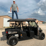 Polaris Ranger 1000 Ultra Extended UTV Top - Overhangs Over Rear Bed