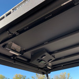 The vents shown were custom add-ons requested by customer and are NOT standard.