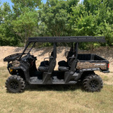 Can-Am Defender Max  Ultra Extended UTV Top - Overhangs Over Rear Bed