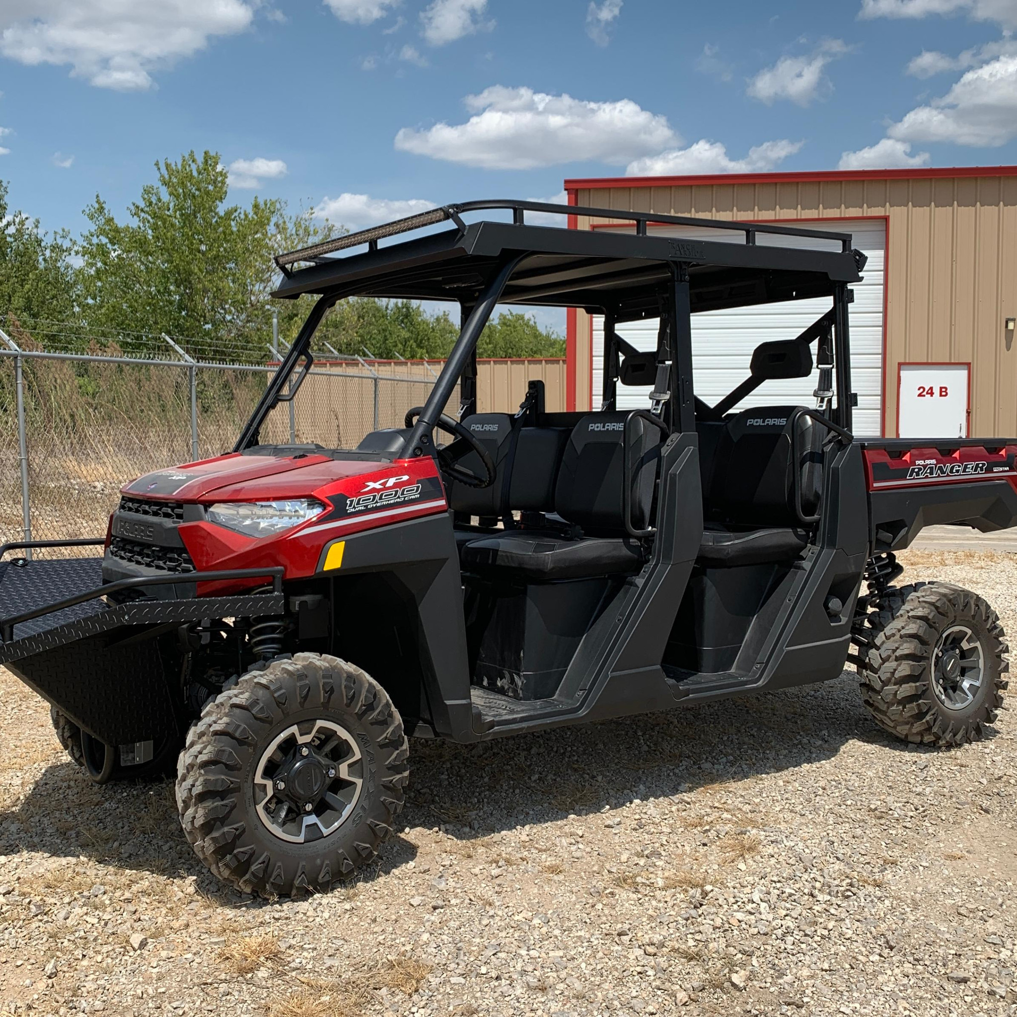 Polaris Ranger Pro Fit Crew Metal Top Texas Outdoors