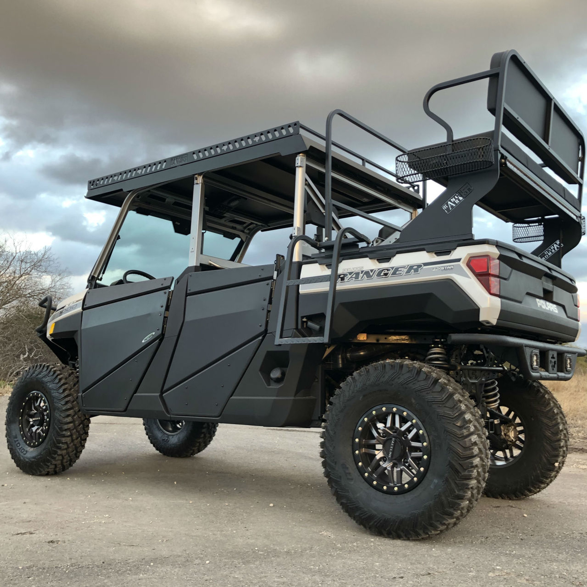 SOLD - 2019 Polaris Ranger 1000 Crew - Project Spurs - Texas