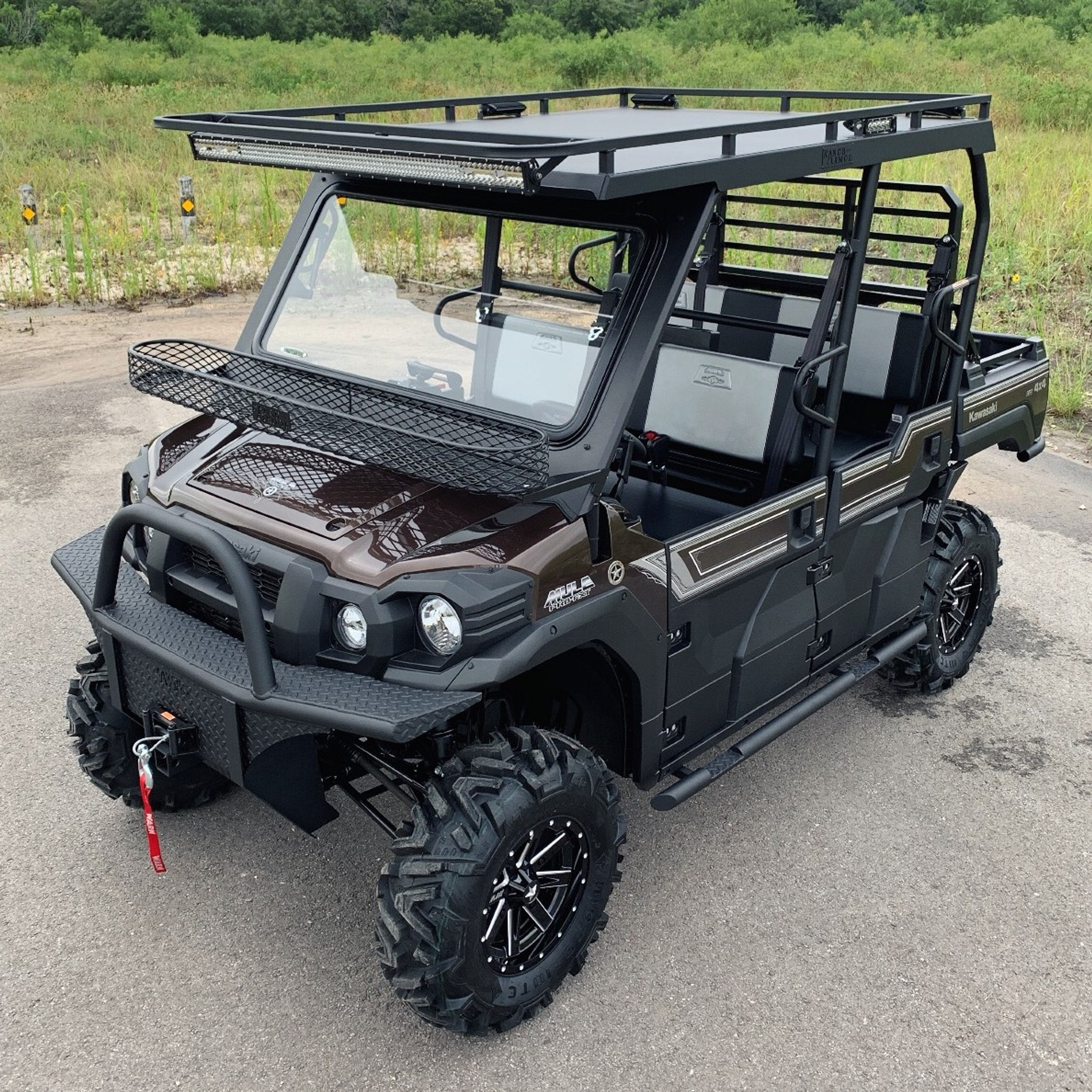 Sold 2019 Kawasaki Mule Pro Fxt Ranch Armor Project Lou Catalogue Only