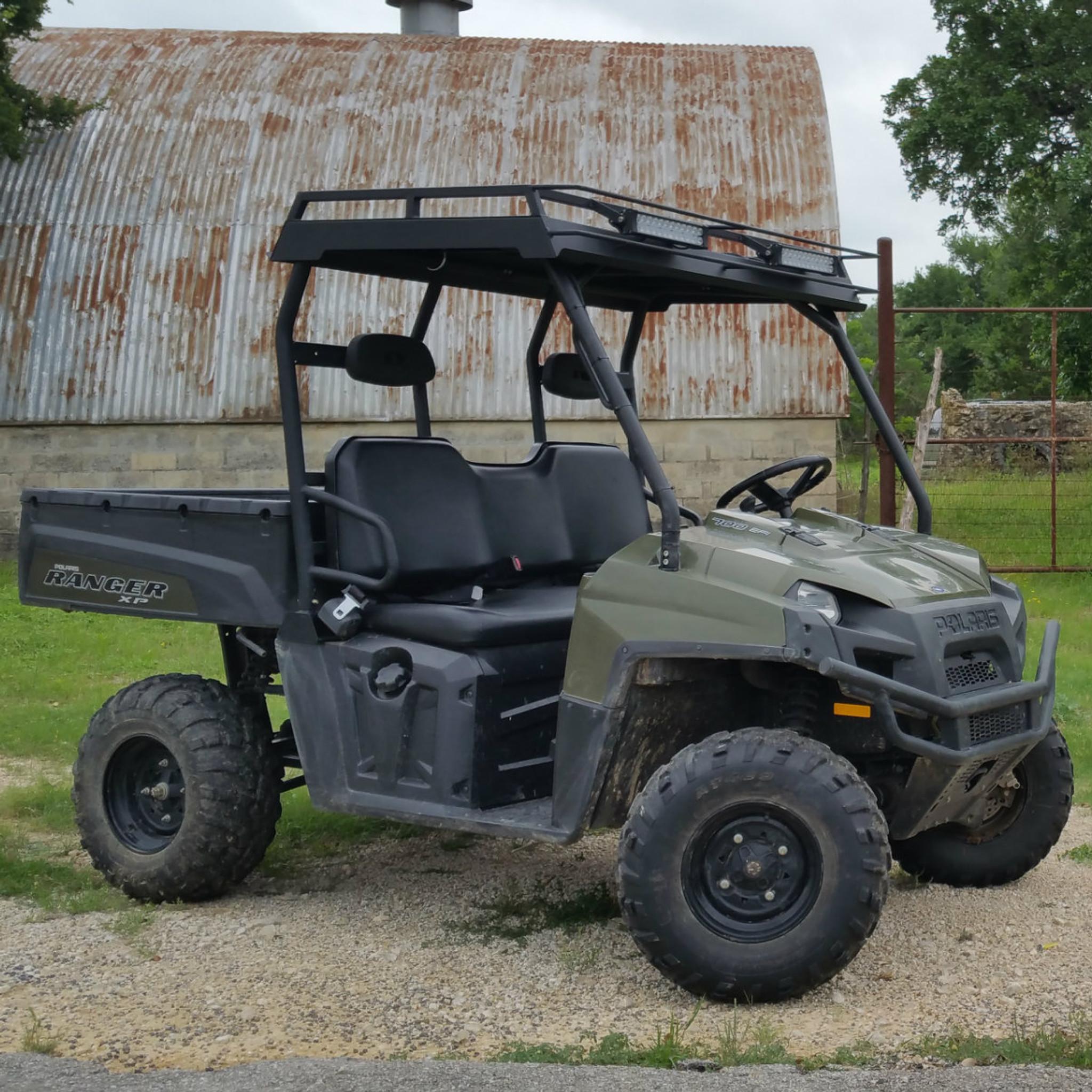 Polaris Ranger Full Size Single Cab Metal Roof Pipe Frame