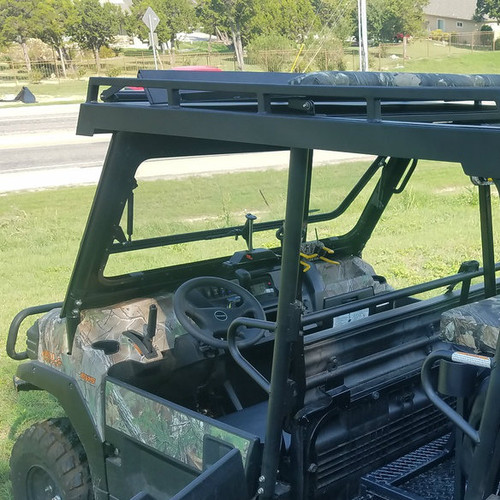 Fortress Tip Out Windshield Kawasaki Mule Pro (FX & FXT)