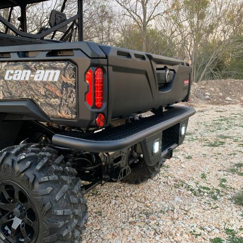 Can-Am Defender Ranch Armor Rear Bumper