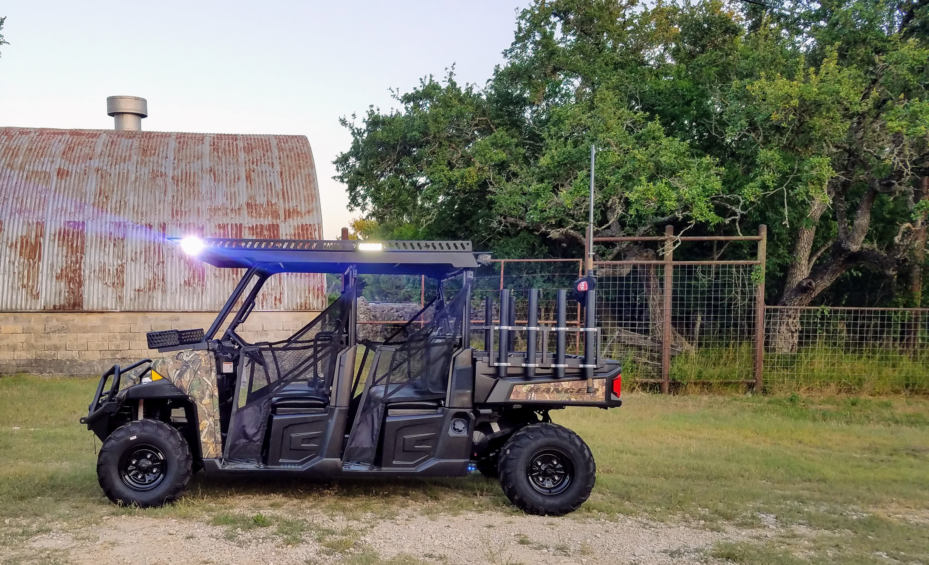 polaris-ranger-metal-roof-extended-side-view-with-led-lights-by-ranch-armor.jpg