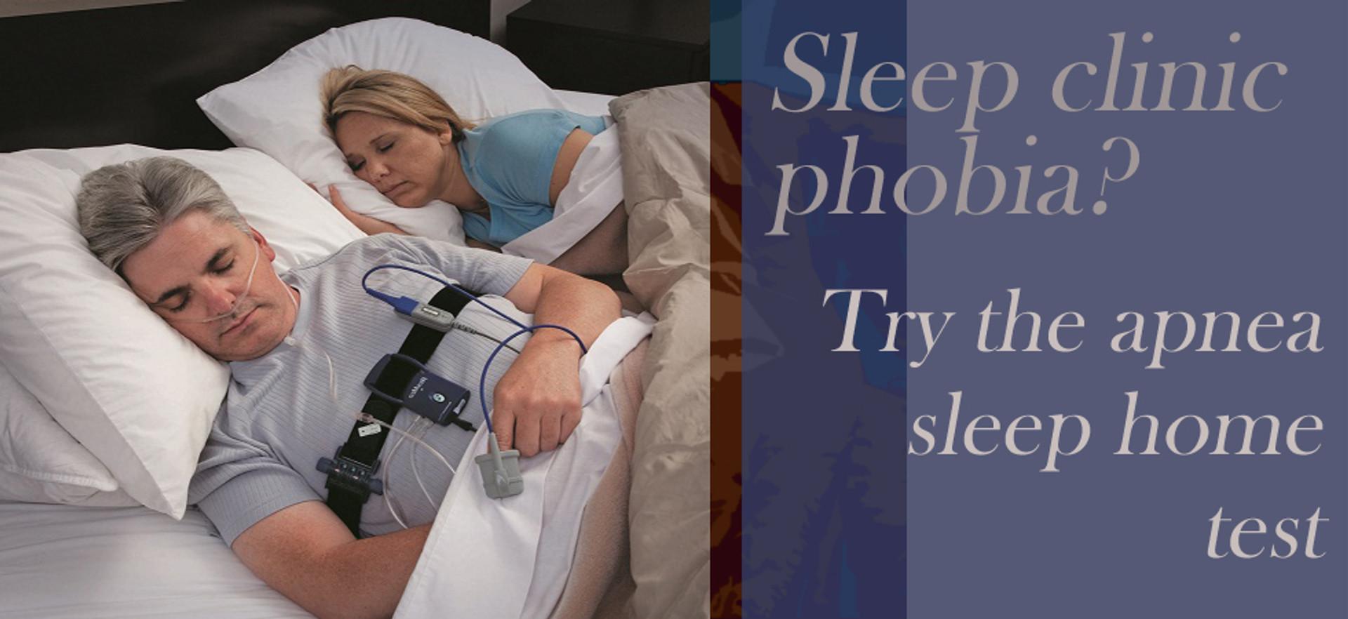SLEEP CLINIC - APNEA TEST - SNORING TEST KIT