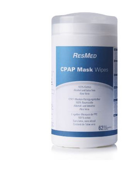 CPAP Cleaner - CPAP Wipes - Non Scented  by ResMed