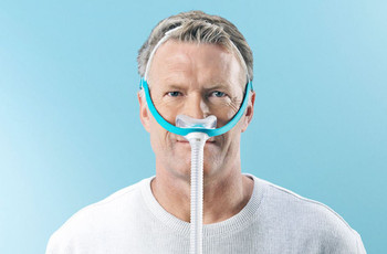 Evora Nasal CPAP Mask -front view Fisher and Paykel Nasal Mask