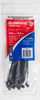Cable tie blk 150x3.6mm crescent
