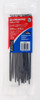 Cable tie blk 200x4.8mm crescent