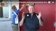 Video: How to install floating shelves